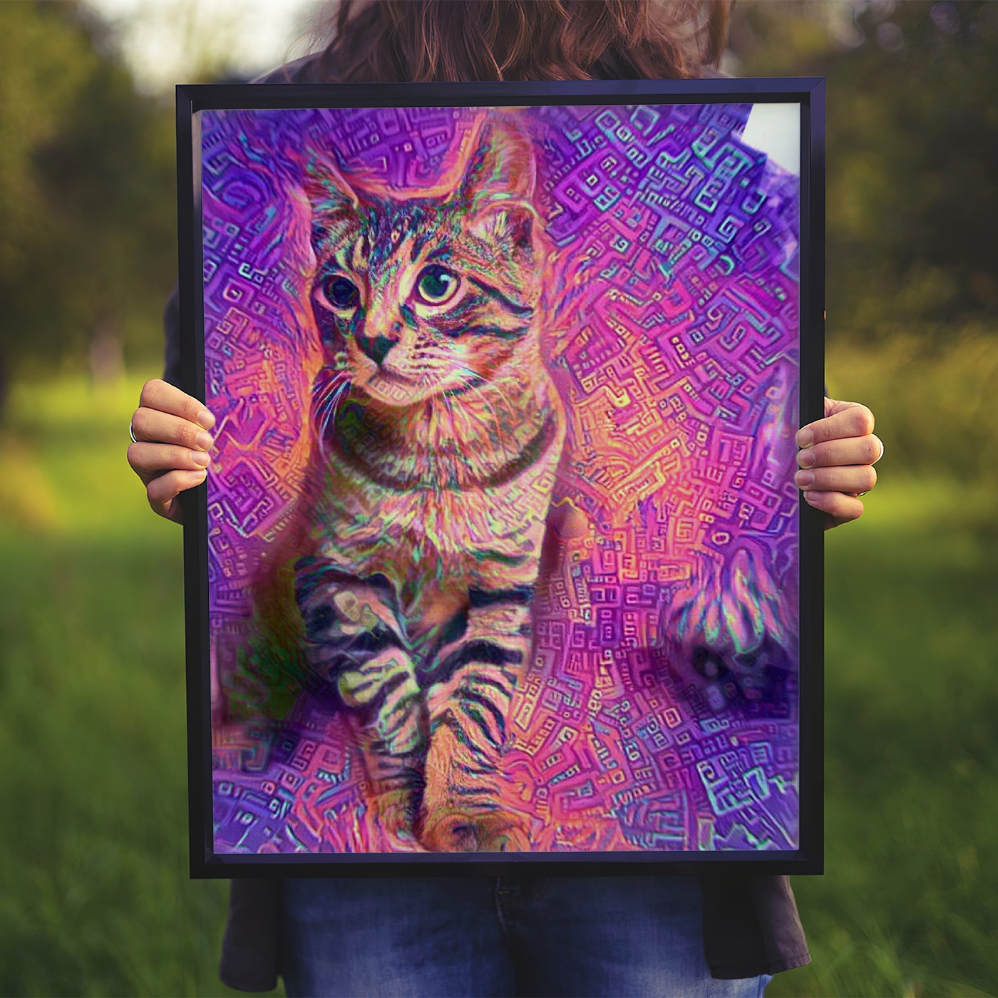 Fragment of Shape - Second to none custom pet portrait