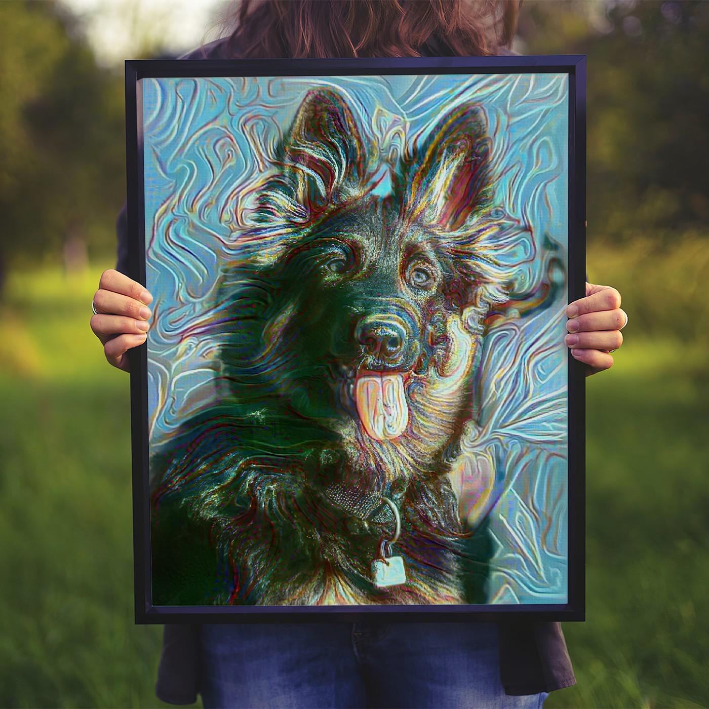 The Shape of Joy - Remarkable personalized pet portraits