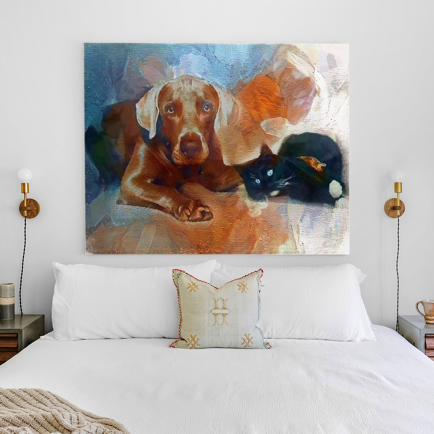 The Surface of Dreams - Incomparable pet portrait art