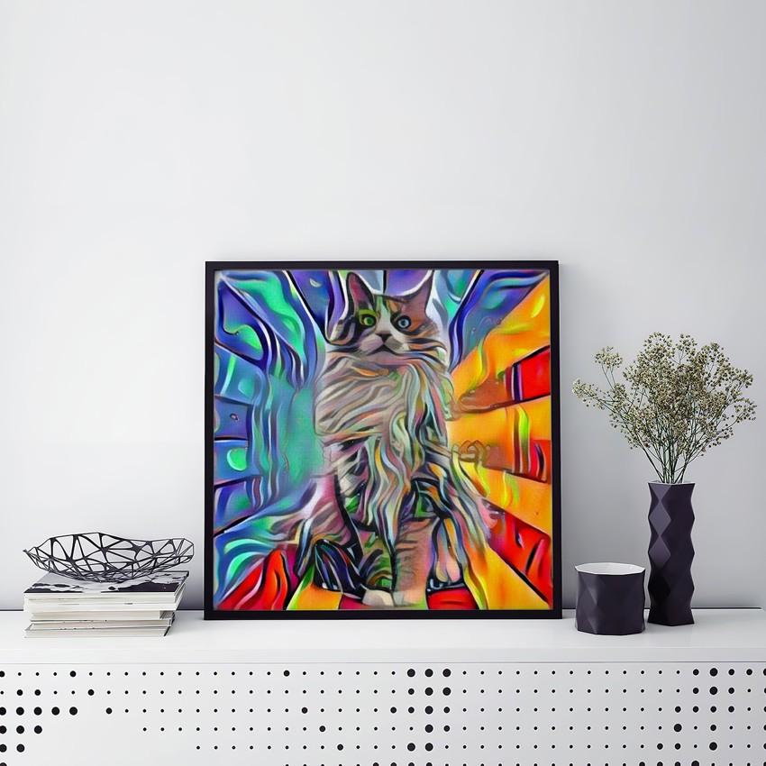 Think Fast Unique Pet Art Prints