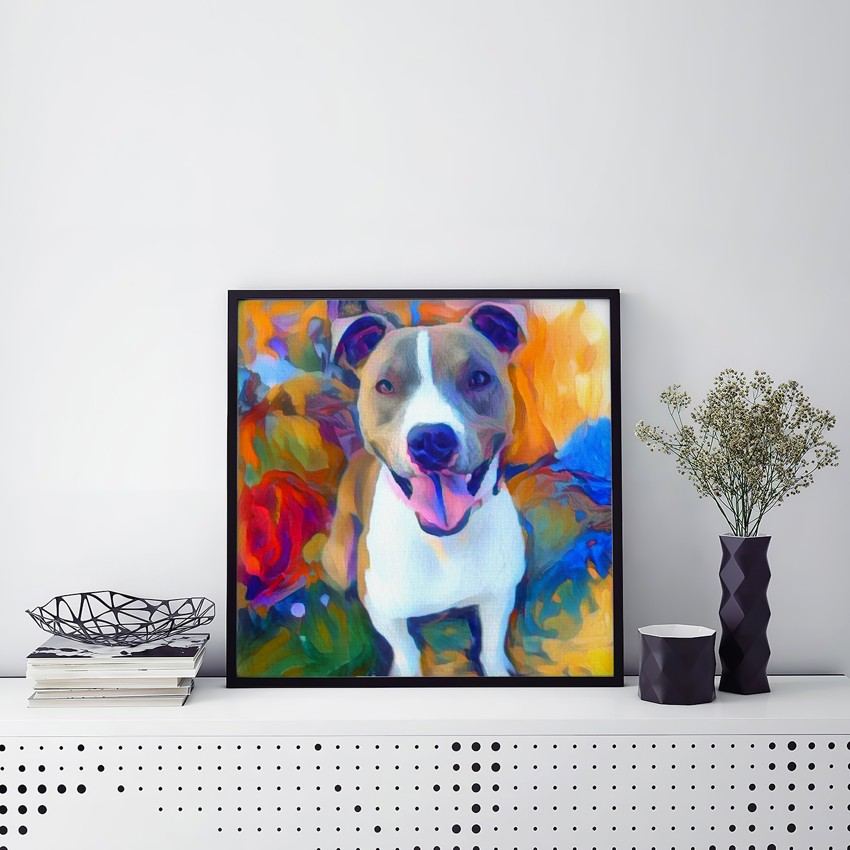 Mechanism in Song - Museum-quality pet portraits - canvas, poster or framed