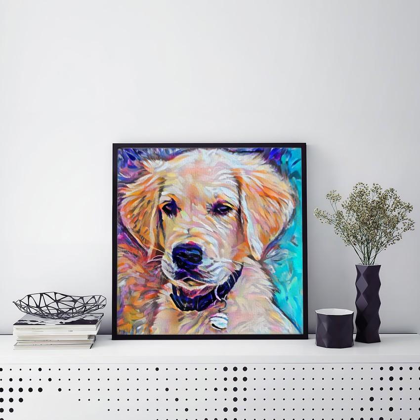 The Dimension Custom Pet Portrait Art