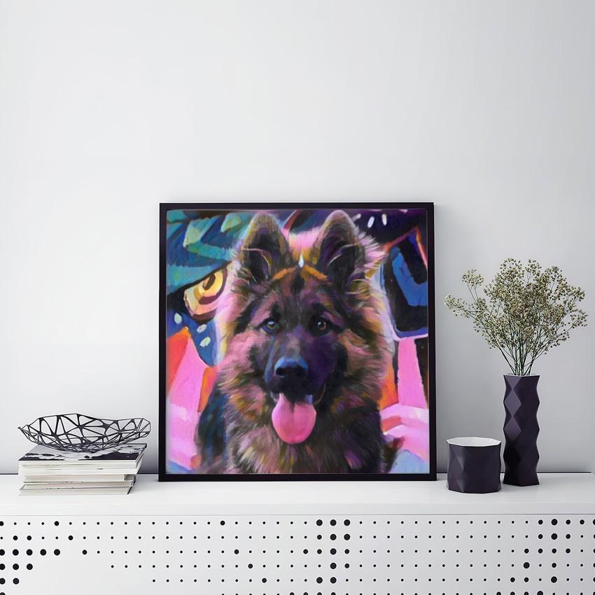 Larque vs Image Custom Pet Portrait