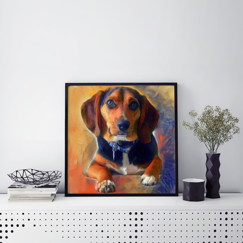 Conversation - Bespoke pet portraits personalized just for you
