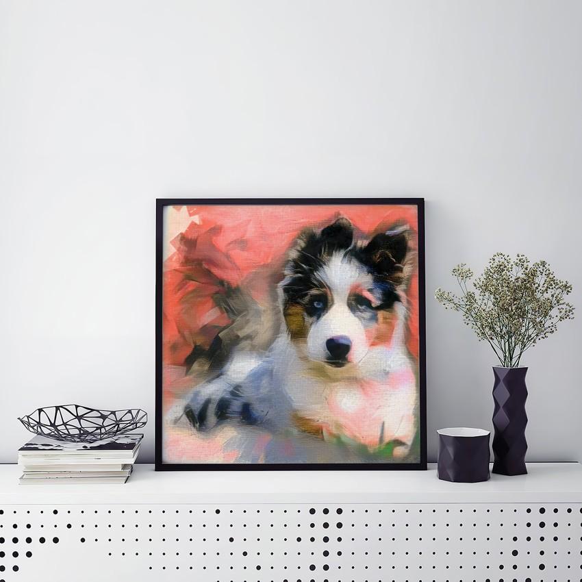 Complex Mind - Warm Chromatic - Beyond comparison pet paintings