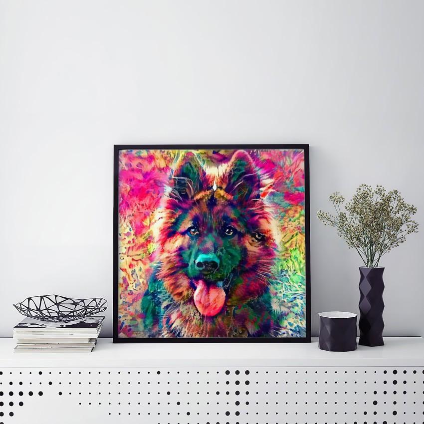 Dreams of Nothing - Noteworthy custom pet wall art