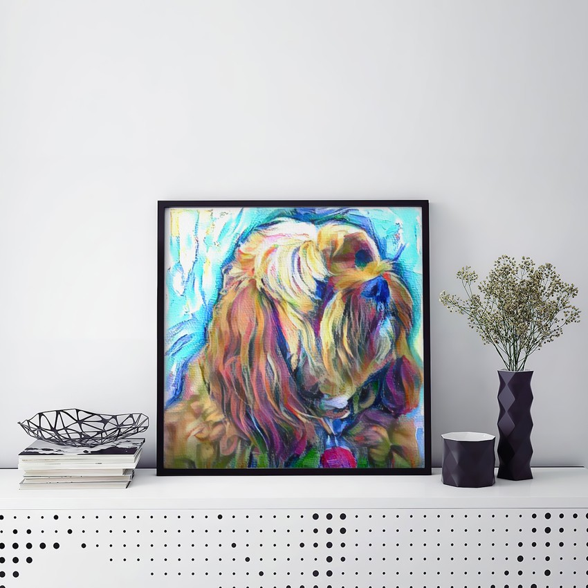 Disintegrated Color - Unmatched pet art