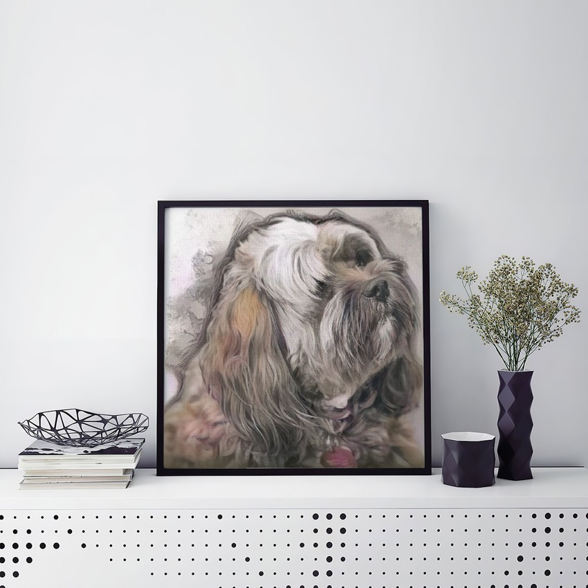 Escape of Reflecting - Creative pet portraits - framed, canvas or poster