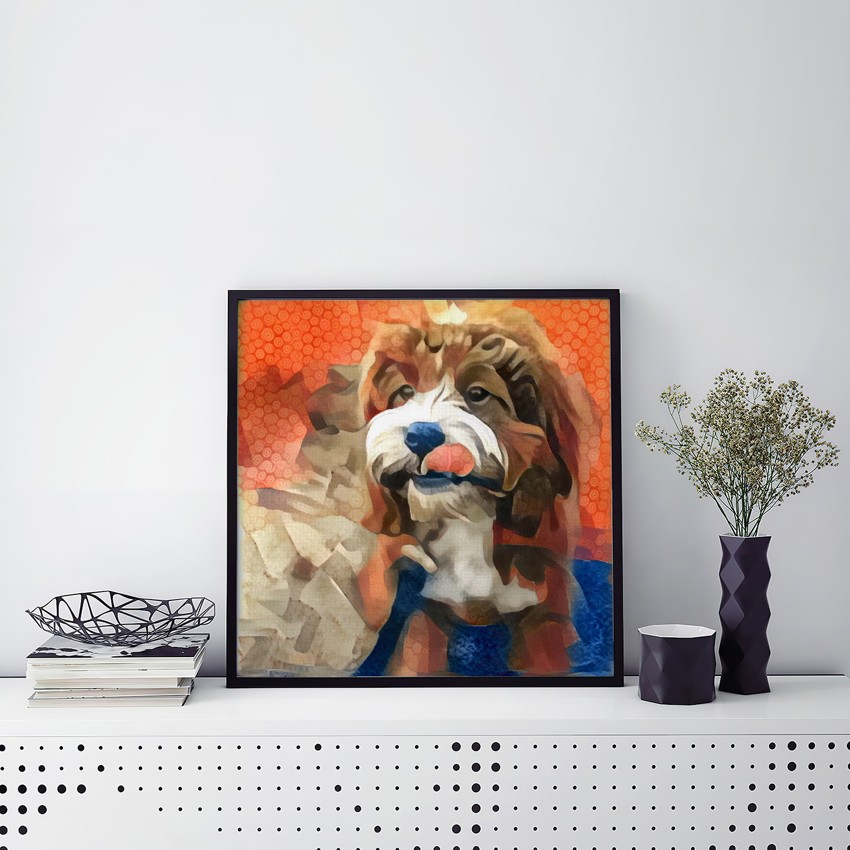 Act Including Song - One of a kind pet portraits made to order