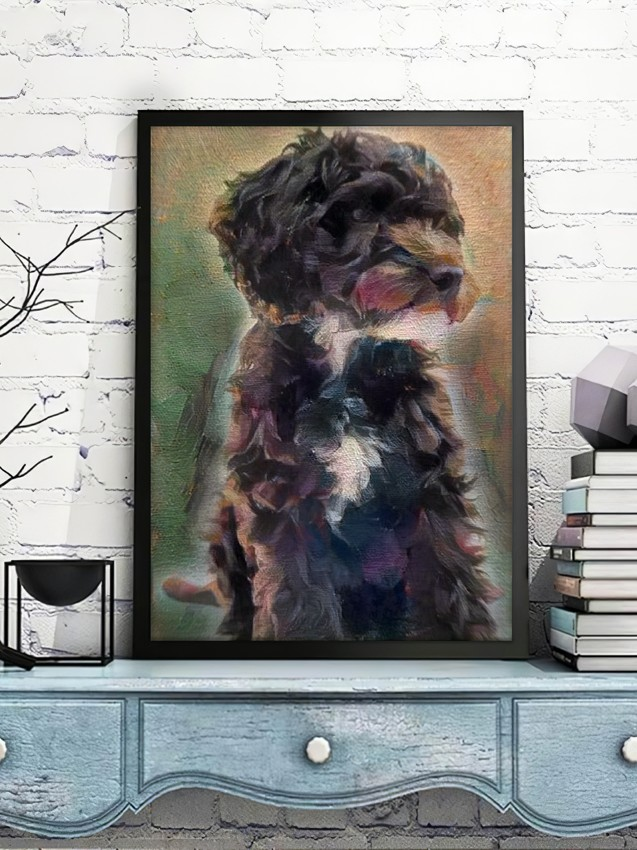 Intuitive Study for Uplifting Philosophy - Second to none custom pet portrait