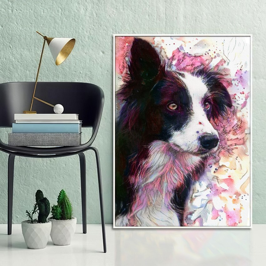Aviator (5th version) - Creative pet portraits - framed, canvas or poster