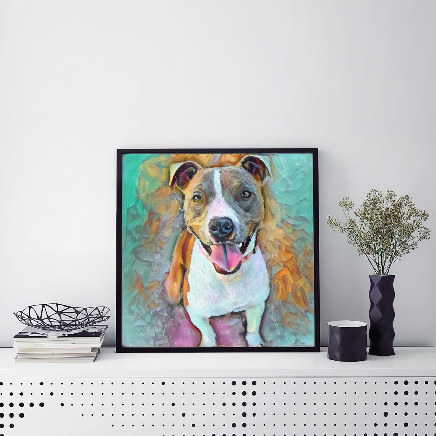 The Air of Happiness - Inimitable customized pet portraits