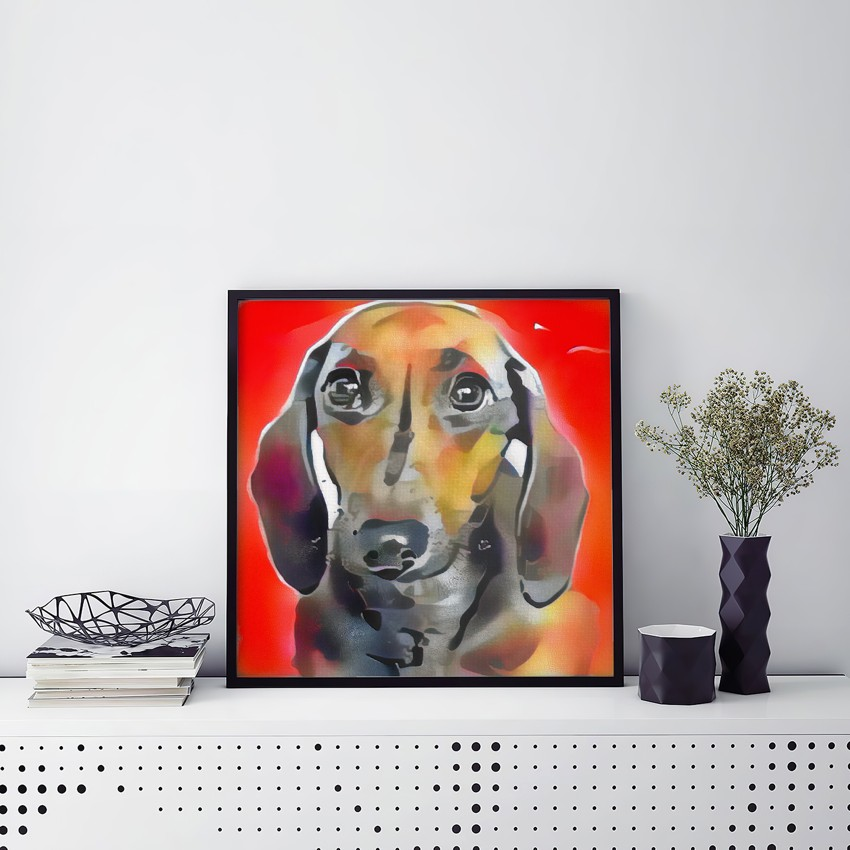Device and Experience - Museum-worthy pet portraits - poster, framed or canvas