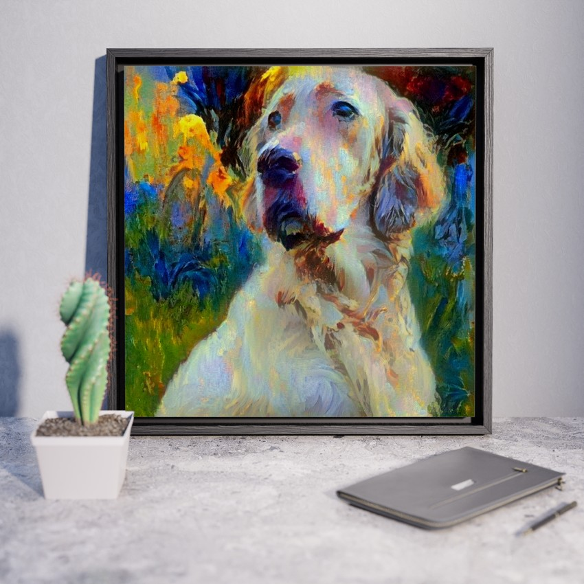 Figure Three - Incomparable pet portrait art