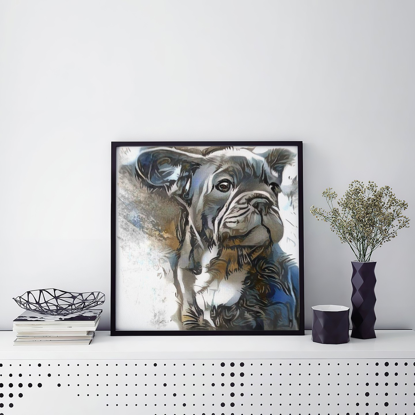Drawn But Not Custom Pet Portrait Art