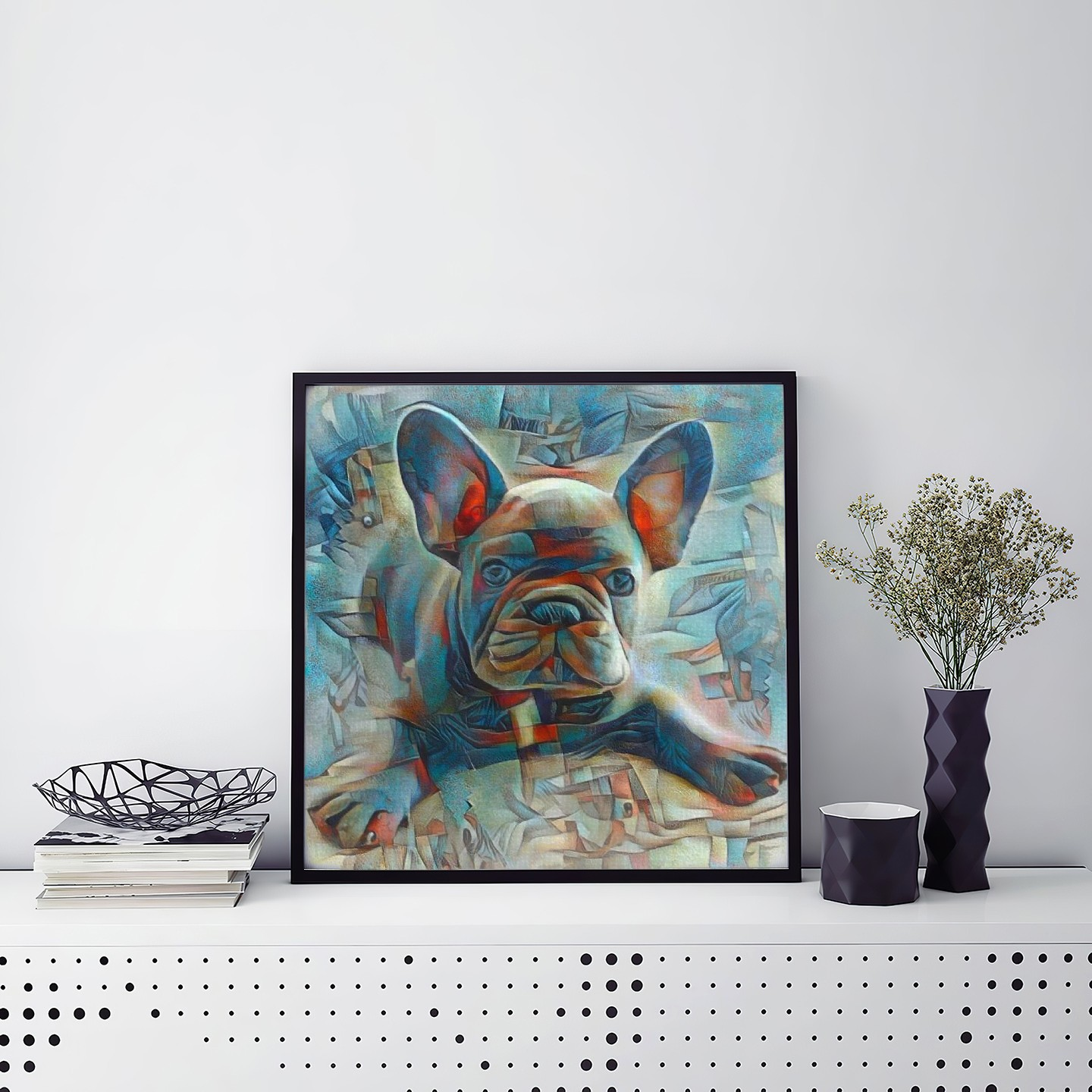 The Dream - One of a kind pet portraits made to order