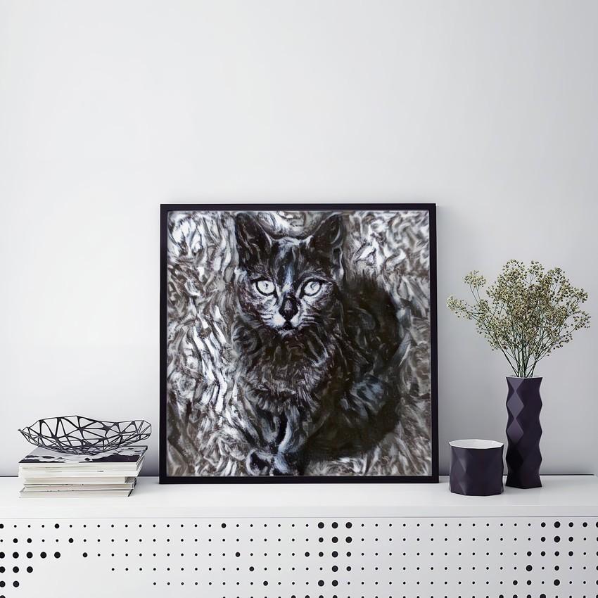 Feeling of Cheer Original Pet Canvas