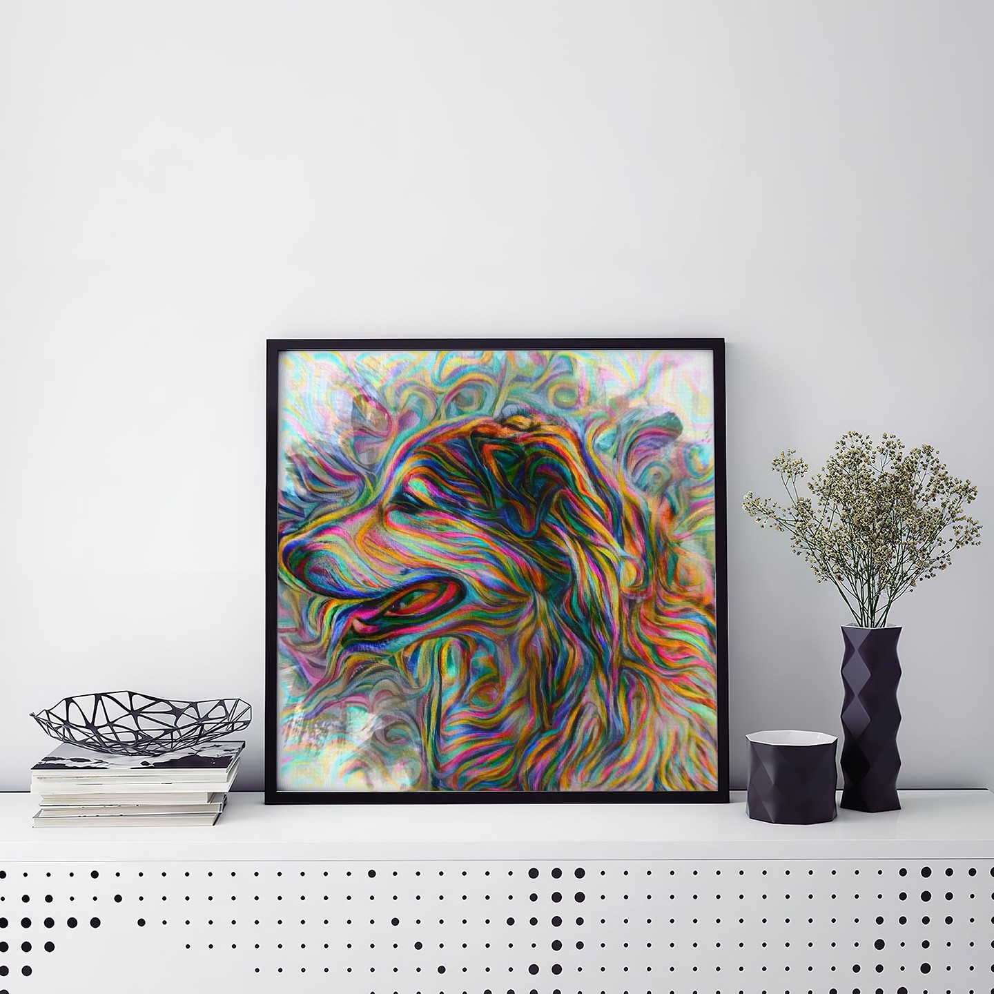 The Vision - Museum-quality pet portraits - canvas, poster or framed