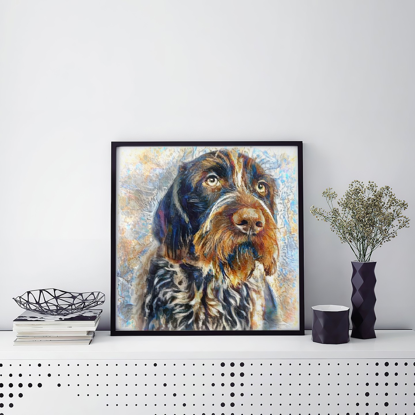 Spirit vs Information - One of a kind pet portraits made to order
