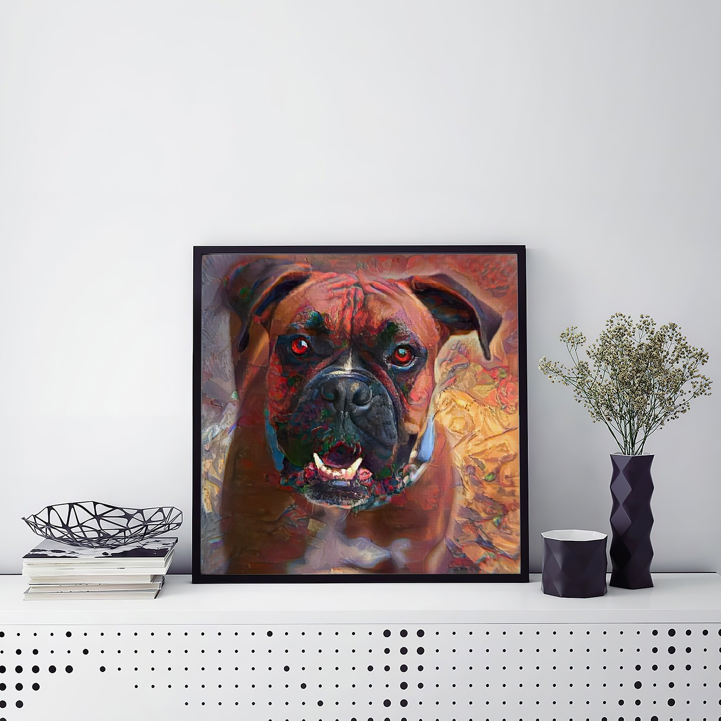 Rotating Life - Museum-worthy pet portraits - poster, framed or canvas