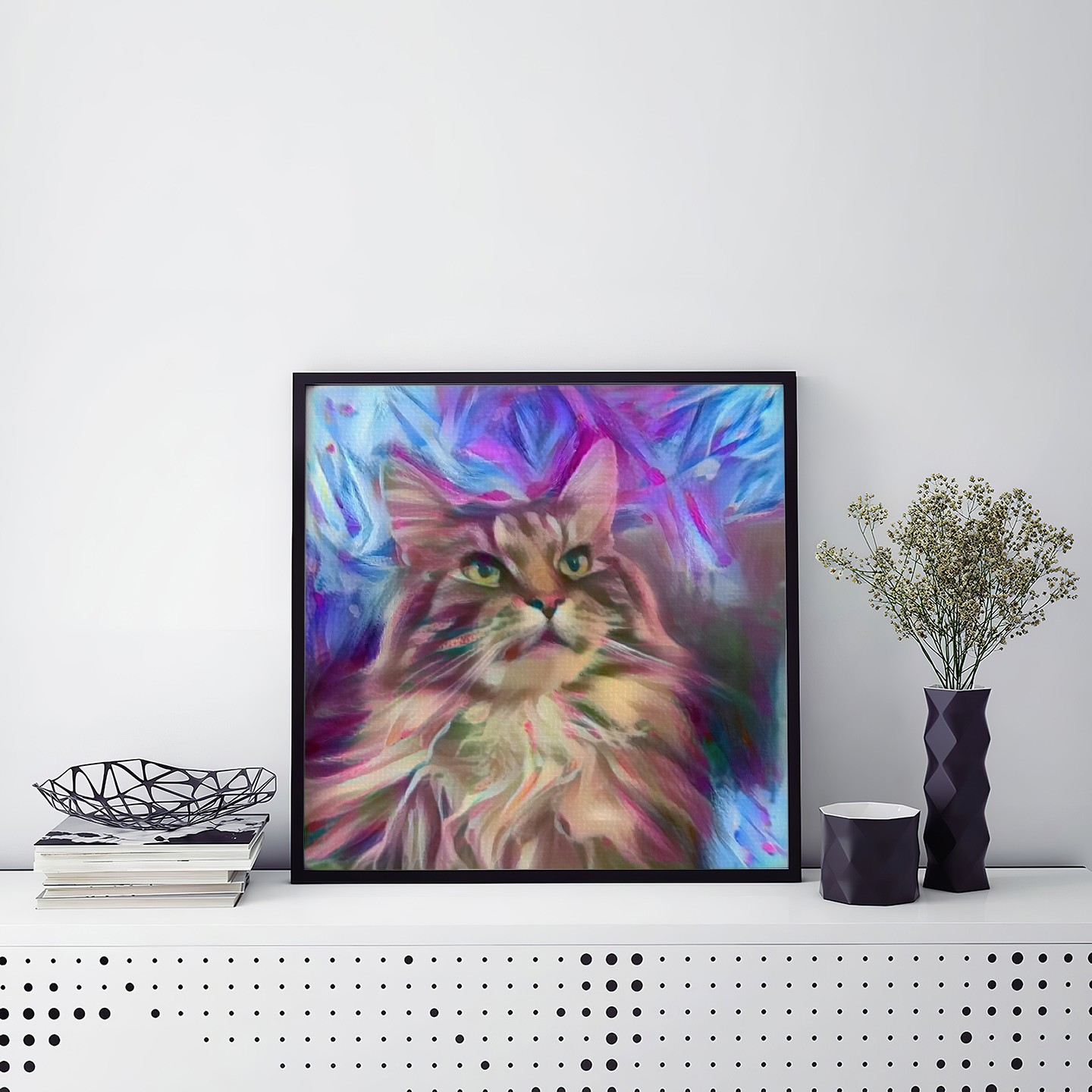 Intuitive Matter Original Pet Canvas