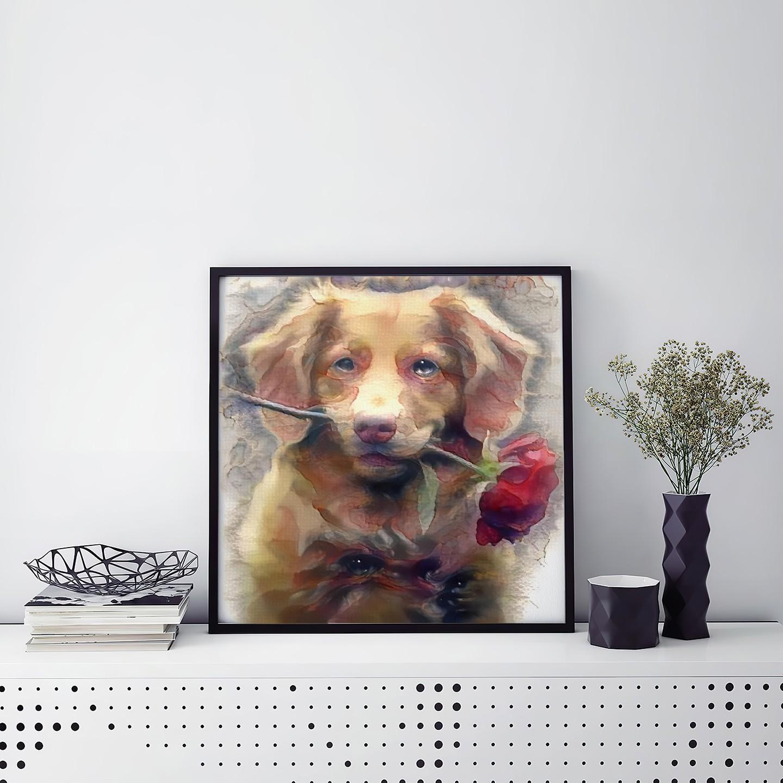 For You - Custom Contemporary Pet Portrait Art