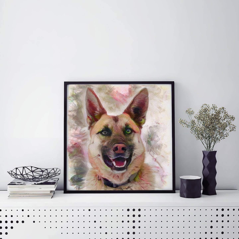 Remembering Unique Pet Art Prints