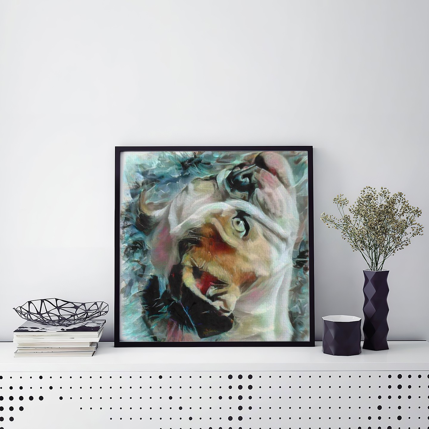 Trapped Light - Incomparable pet portrait art