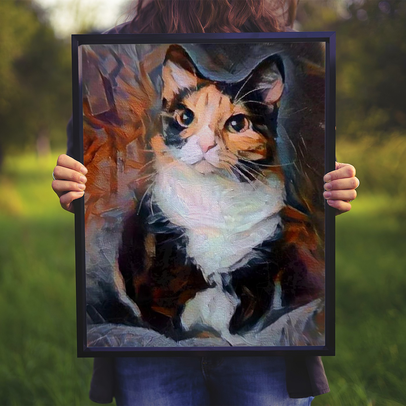 Yes But No - Museum-quality pet portraits - canvas, poster or framed