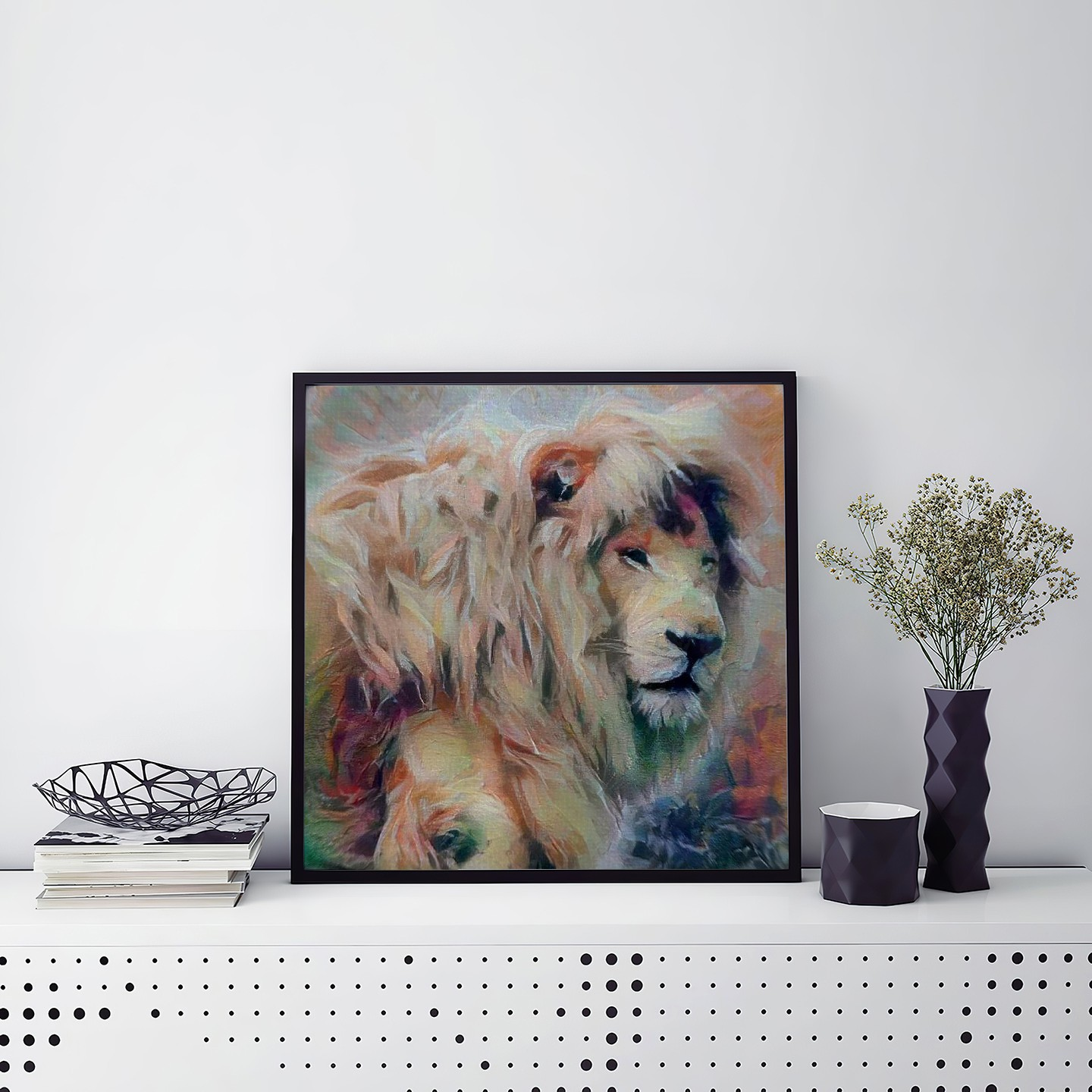 Always There - Creative pet portraits - framed, canvas or poster