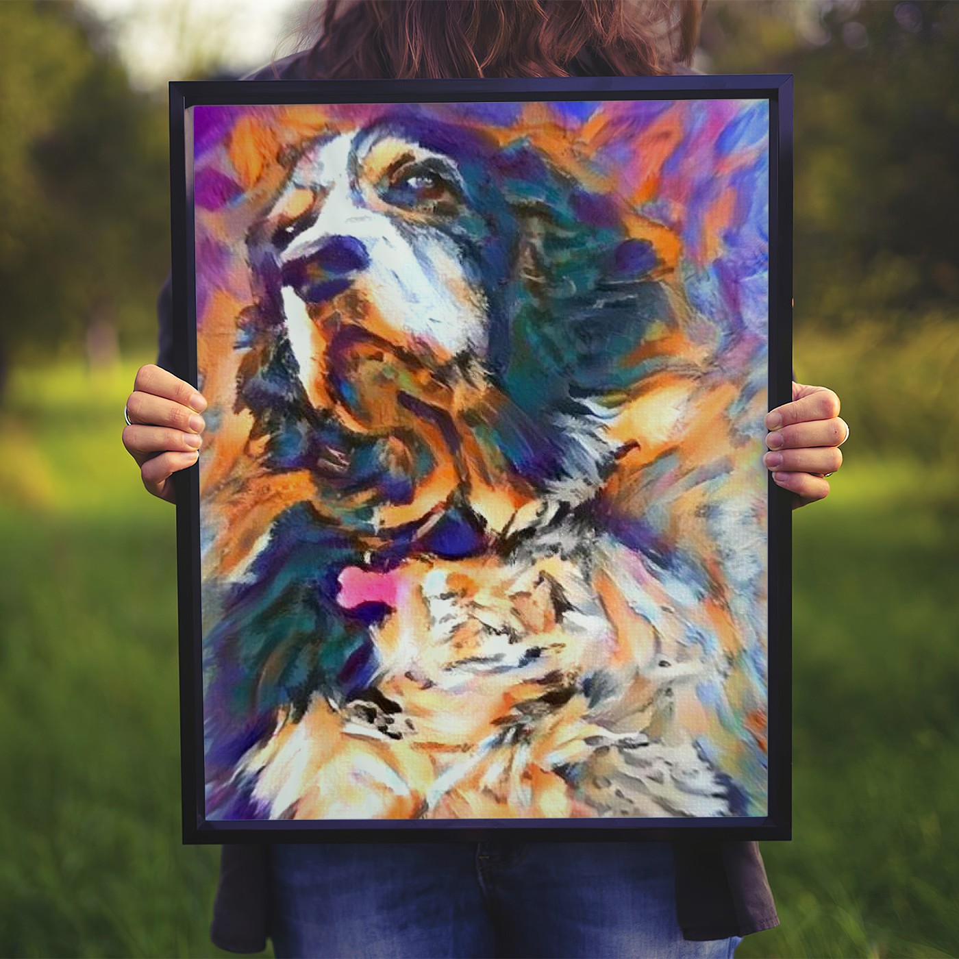 The Edge - Bespoke pet portraits personalized just for you
