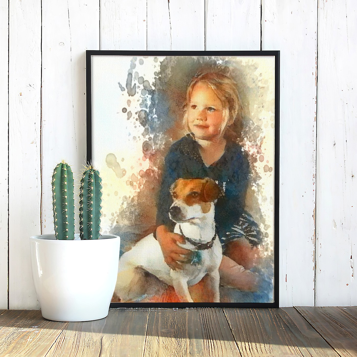 The Century - Museum-worthy pet portraits - poster, framed or canvas