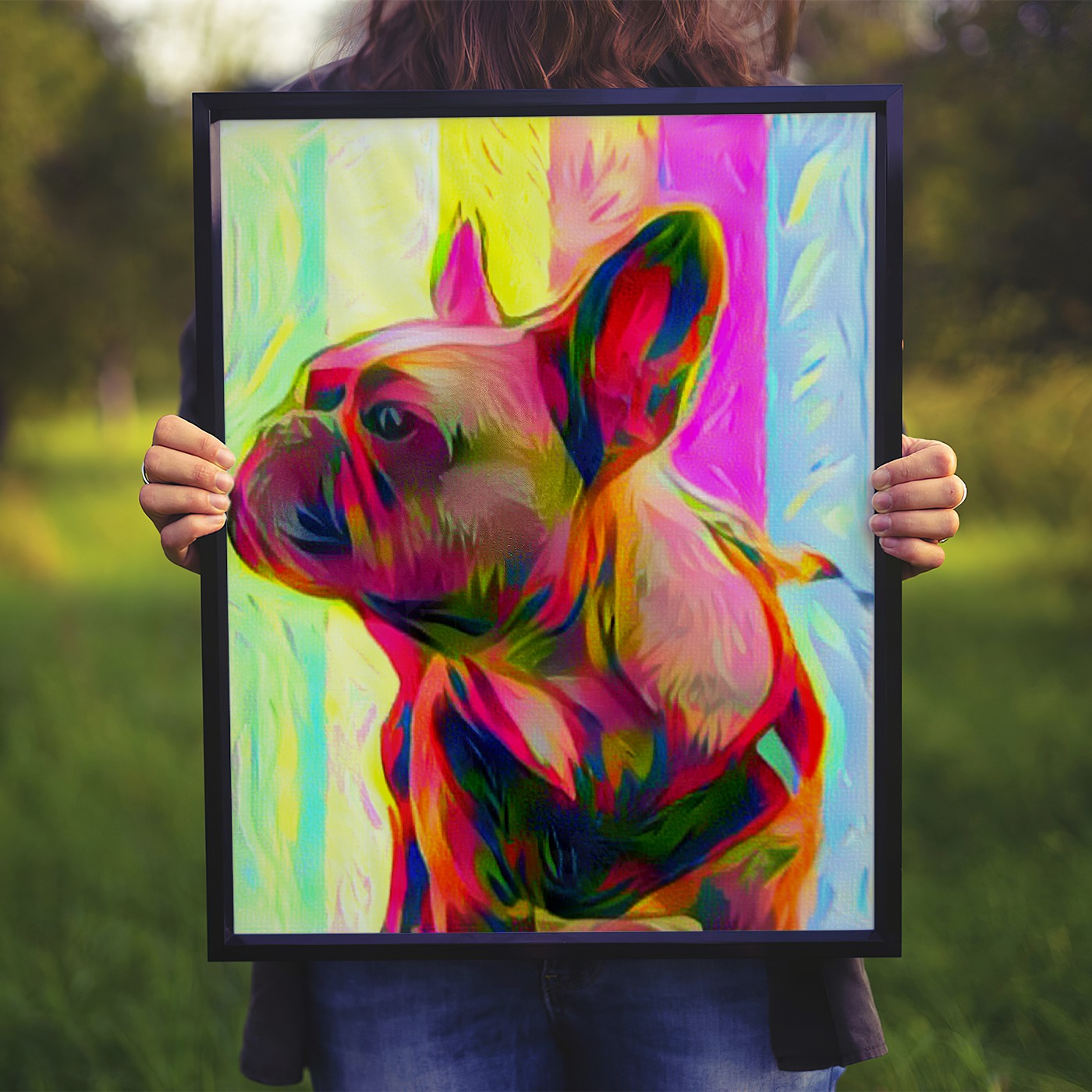 The Charmer Custom Pet Portrait Art