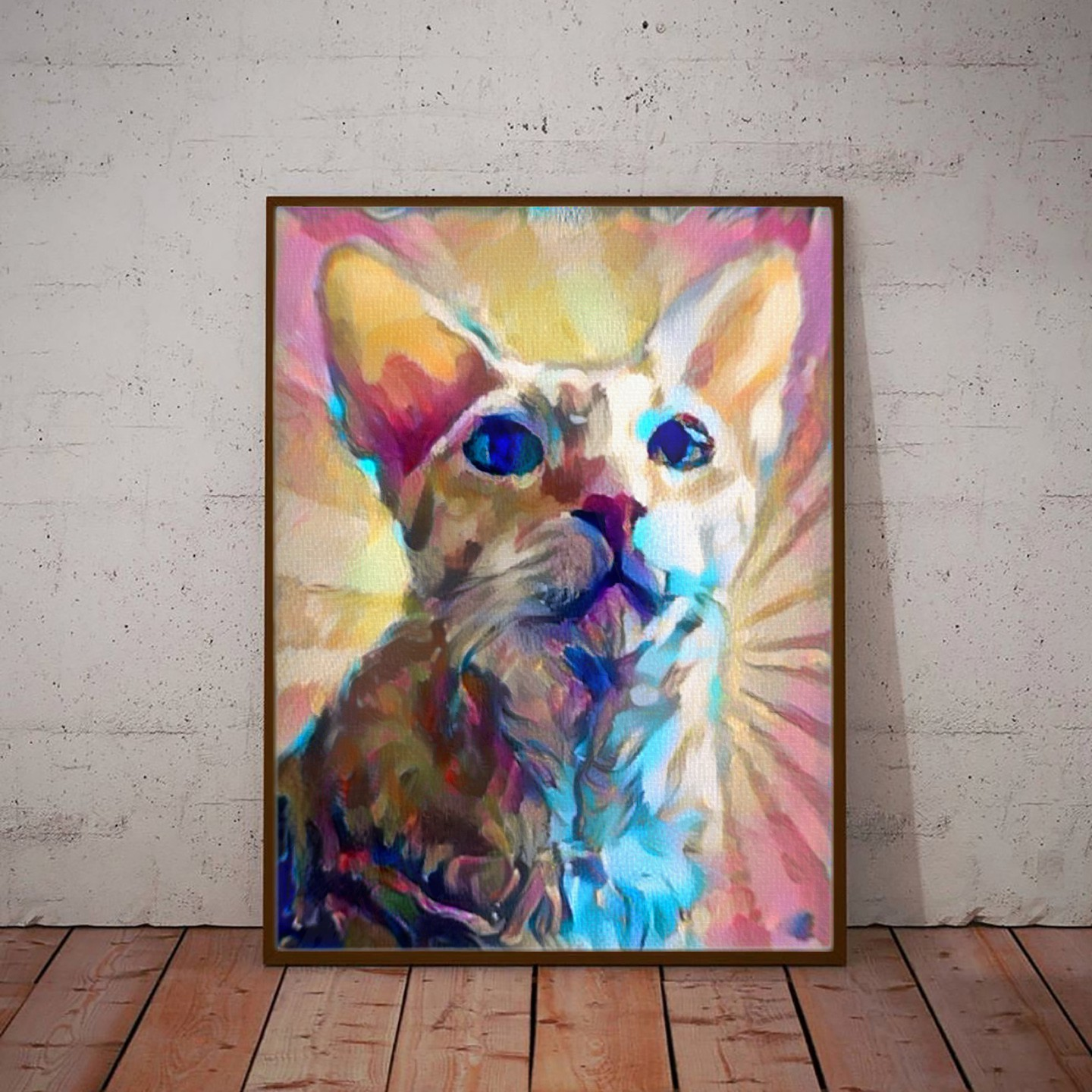 Sunrise Sunset - Creative pet portraits - framed, canvas or poster