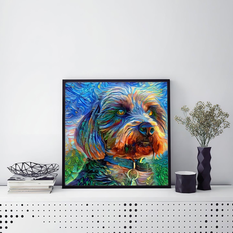 Momentary Illusion - Unique custom pet portraits