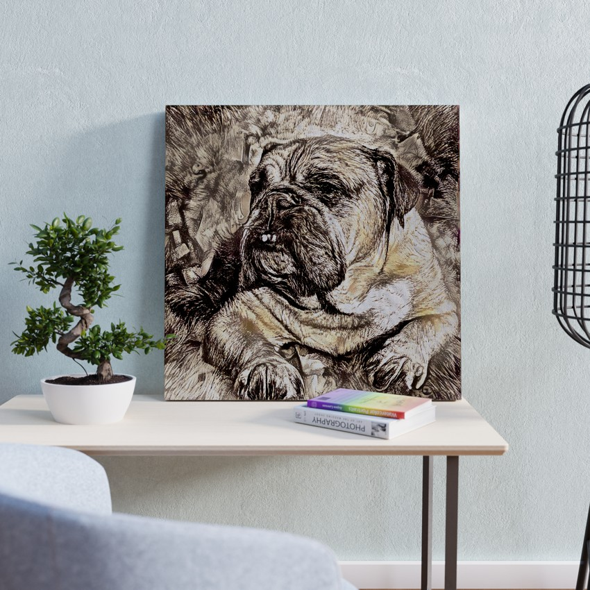 Rugged One - One-off pet painting
