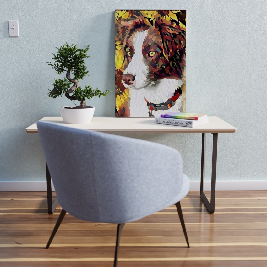 The Projection of Wait - Unparalleled pet portrait