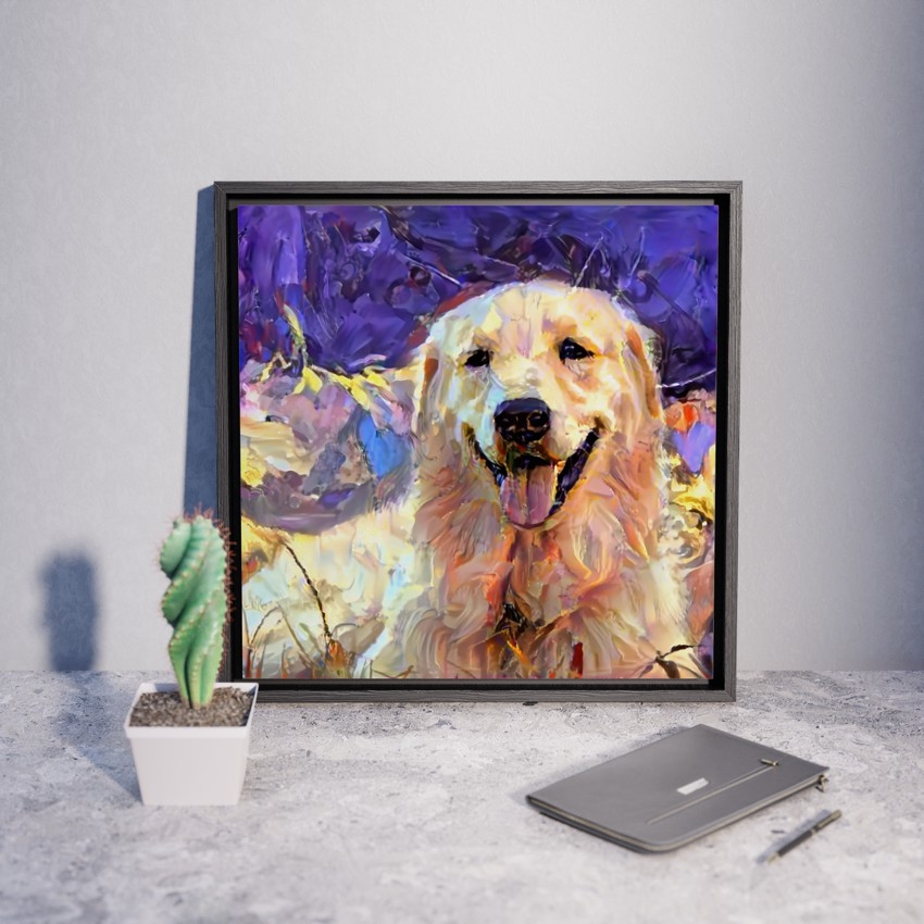 Purple Hills - Unique custom pet portraits