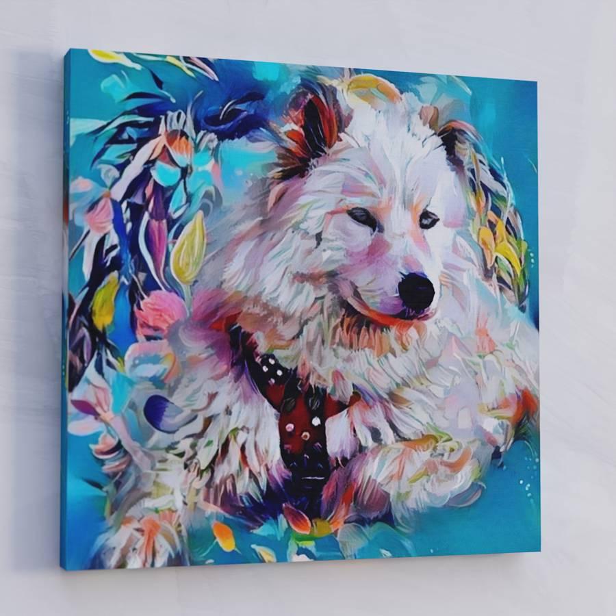 Custom Pet Portraits on Canvas