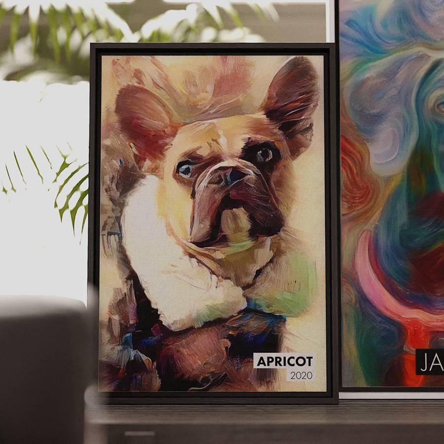 Signed Pet Portraitos
