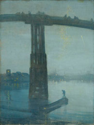 James Abbott McNeill Whistler - Nocturne: Blue and Gold