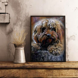 Pet Portraits Photo To Painting Art In A Sec