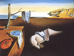 Salvador Dali's - The Persistence of Memory