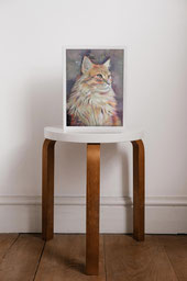 Framed Custom made pet painting