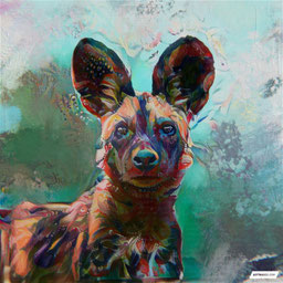 Canvas Art of a animal art Painting
